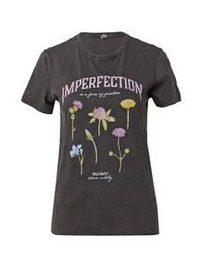 ONLY Shirt ''ONLLUCY'' schwarz / pink / grün / gelb