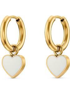 Guido Maria Kretschmer Jewellery Ohrringe gold / weiß