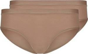 Skiny Rio Slip 2er-Pack Pure Nudity in schlichtem Design braun