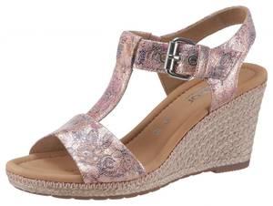GABOR Sandalette mischfarben / rosa