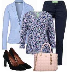 Elegante zakelijke outfit VrouwenOutfits.nl