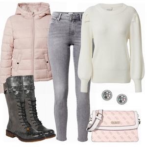 Mooie winter look VrouwenOutfits.be