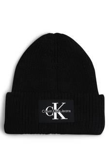 Calvin Klein Jeans Mütze schwarz / weiß