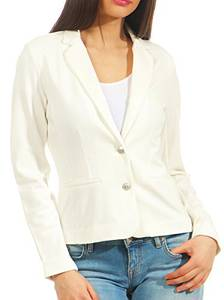 ONLY Damen Blazer Einfarbiger SCloud Dancer