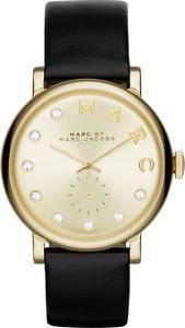 Marc Jacobs Uhr ''Baker'' gold / schwarz