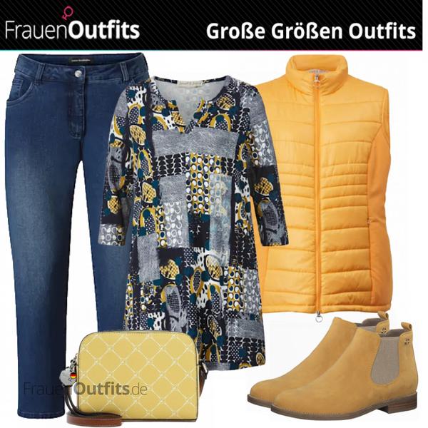 Cooler Herbstlook für Plus Size FrauenOutfits.de