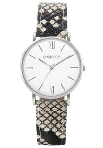 Suri Frey Uhr ''Amy'' beige / schwarz / silber