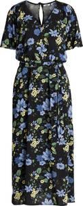 WE Fashion Dames maxi-jurk met bloemendessin