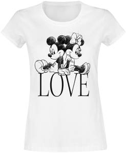 Micky Maus Love T-Shirt