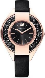 Swarovski Uhr ''Sporty'' schwarz / rosegold