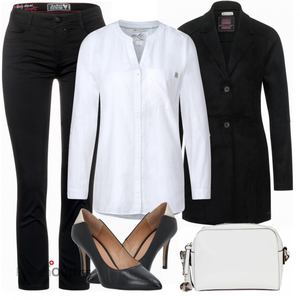 Auffälliger Business Look FrauenOutfits.ch