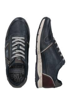 MUSTANG Sneaker blutrot / navy