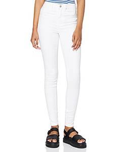 ONLY Damen Onlroyal Hw Sk White Noos Jeans, Weiß, M EU