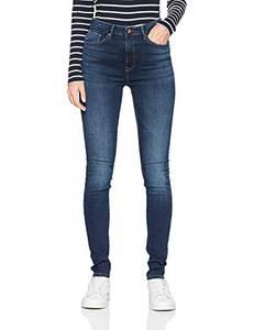 ONLY Damen onlPAOLA HW SK DNM AZGZ878 NOOS Skinny Jeans, Blau (Dark Blue Denim), W29/L32 (Herstellergröße: M)