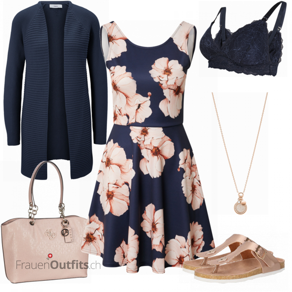 Blumiger Sommerlook FrauenOutfits.ch