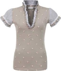 STOCKERPOINT Shirt ''Pana'' hellbraun / grau / weiß