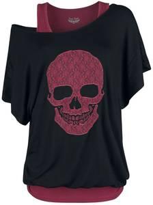 Rock Rebel by EMP Schwarzes Shirt T-Shirt