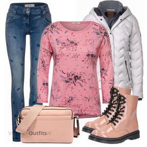 Elegante winteroutfit VrouwenOutfits.nl