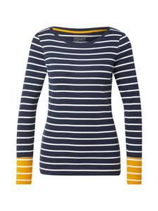ESPRIT Shirt navy / weiß / gelb