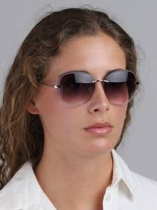 Pilgrim Sonnenbrille ''Dolly'' gold / lila