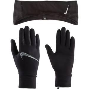 NIKE Accessoires Sport-Set weiß / schwarz