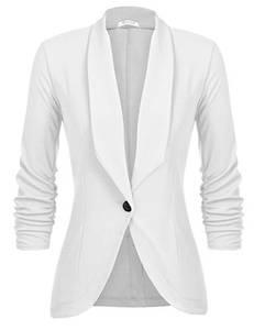 Unibelle Damen Blazer Cardigan Dünn 3/4 Längere Elegant Leicht Bolero Jacke Blazer Slim Fit Anzug Trenchcoat