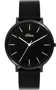 s.Oliver Uhr ''3948-PQ'' schwarz