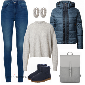Letters Alltagsoutfit FrauenOutfits.ch
