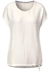 Seersucher t-shirt - pure off white