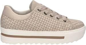 Gabor 66.499.33 Dames Sneakers - Beige - Maat 38