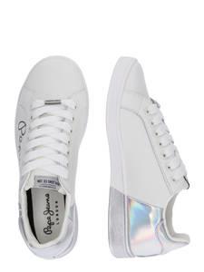 Pepe Jeans Sneaker ''Bromton Mania'' weiß / schwarz