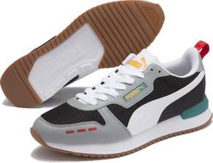 PUMA R78 OG Unisex Sneakers - Puma Silver-Puma Silver-Gray Violet - Maat 42