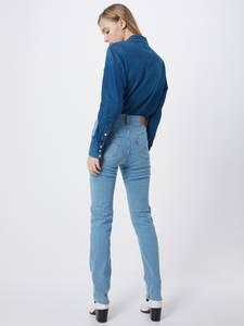LEVI''S Jeans ''724™ High Rise Straight'' blue denim