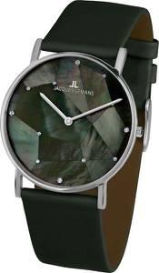 Jacques Lemans Uhr dunkelgrün