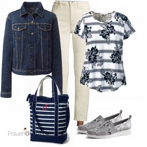 Sommerliches Freizeit Outfit FrauenOutfits.de