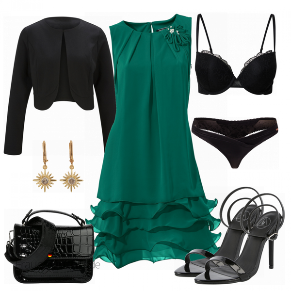 Sommerliches Abend Outfit FrauenOutfits.de