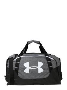 UNDER ARMOUR Sporttasche Undeniable Duffle graumeliert / schwarz / weiß