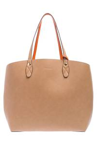 MORE & MORE Shopper karamell / orange