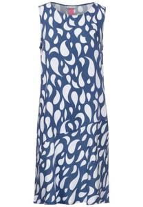 Meerkleurige jurk - foggy blue