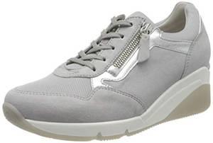 Gabor Shoes Damen Comfort Basic Sneaker, Grau (Light Grey/Silber 40), 39 EU