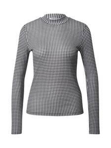 EDITED Shirt ''Marille'' weiß / schwarz