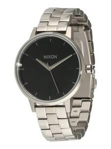Nixon Armbanduhr Kensington grau / schwarz