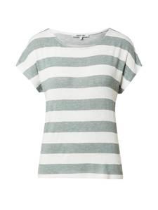 ABOUT YOU Shirt ''Lamya'' weiß / grün