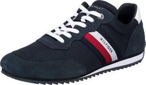 TOMMY HILFIGER Sneaker navy / weiß / hellrot