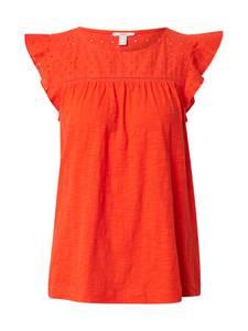 ESPRIT T-Shirt ''EMBRO'' orangerot