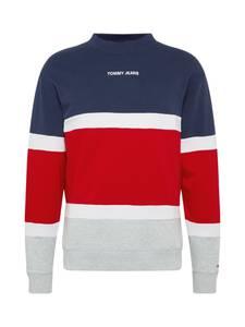 Tommy Jeans Sweatshirt rot / navy / grau