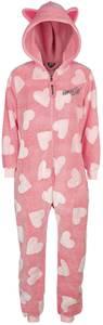 Birds Of Prey Pink Hearts Jumpsuit