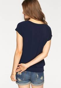 LASCANA Shirt dunkelblau