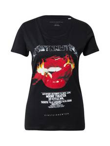 EINSTEIN & NEWTON T-Shirt ''Flames'' schwarz / weiß / rot / gelb