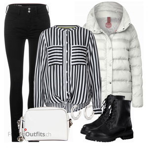 Bequemes Winter Outfit FrauenOutfits.ch